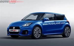 Upcoming Suzuki Swift Rendered As Third