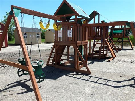 backyard playground sets swing sets in michigan on two days only