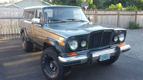 jeep cherokee chief blue jeep cherokee chief grand cherokee wagoneer classic