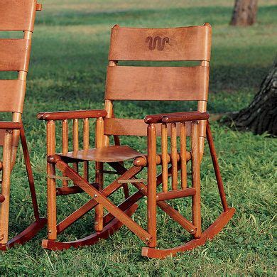 king ranch low back rocking chair king ranch my style