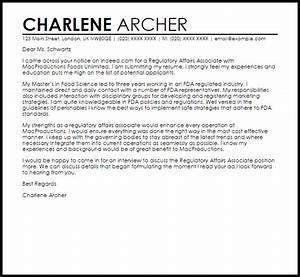 Cover letter sample professional resume example capable for Pharmaceutical regulatory affairs resume sample