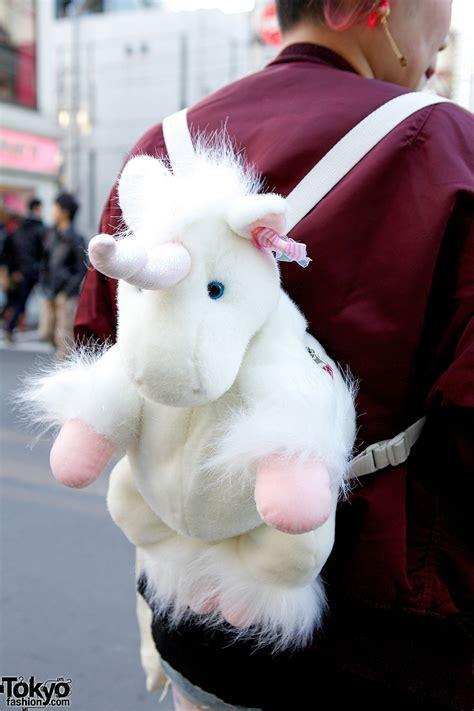 scramble market elleanor  pink odango hair unicorn
