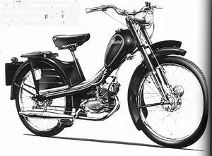 1954 Phillips Gadabout Moped With 49cc Two