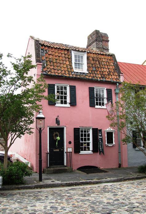 pink house charleston south carolina