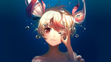 underwater anime artwork wallpapers hd wallpapers id