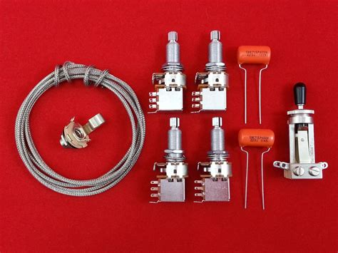 wiring kit jimmy page les paul style allparts uk