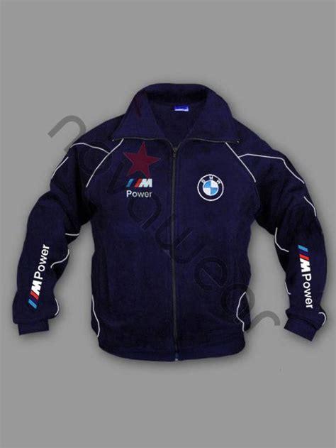 bmw  power fleece jacket blue bmw jackets bmw clothes