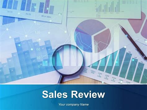 sales review powerpoint   powerpoint
