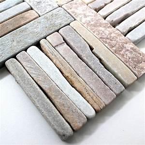 Pierre Et Sol : mosaique pierre sol et mur douche et salle de bain mp ~ Melissatoandfro.com Idées de Décoration