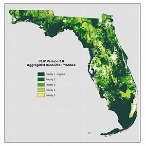 Florida Map Of Natural Resources