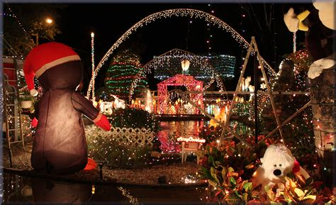 christmas lights st petersburg fl stpetersburg oakdale christmas house