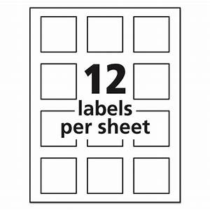 Avery 22806 labels for Avery square labels template