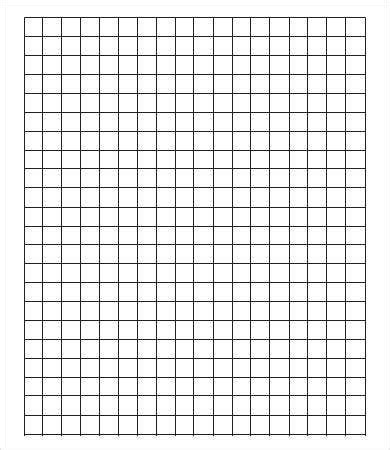 large graph paper template    documents