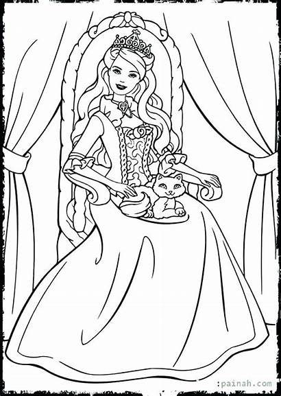 Coloring Pages Esther Queen Bible Barbie Sheets