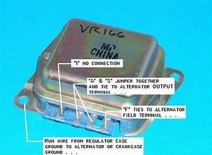 Chevy External Voltage Regulator Test