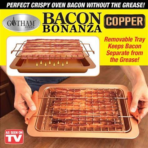 bacon bonanza copper pan    tv