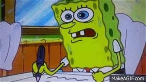 spongebob   learned  boating school     gif