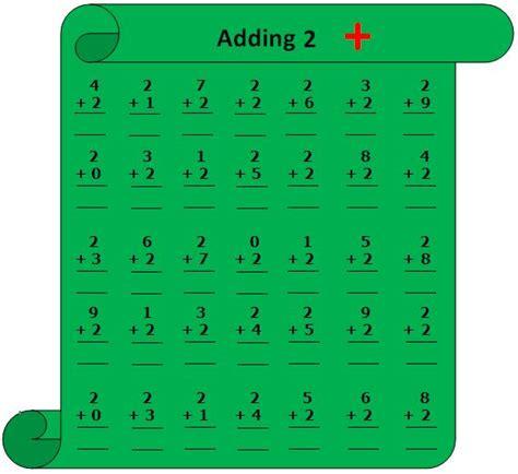 worksheet  adding  add    number