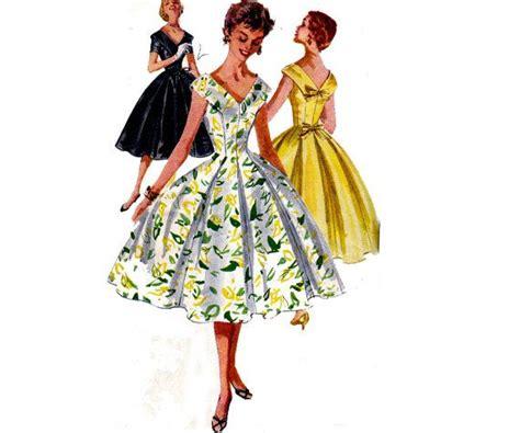 full skirt pleated dress pattern