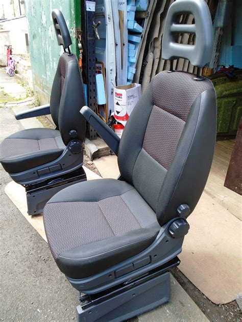 sold  fiat ducato  single passenger seat