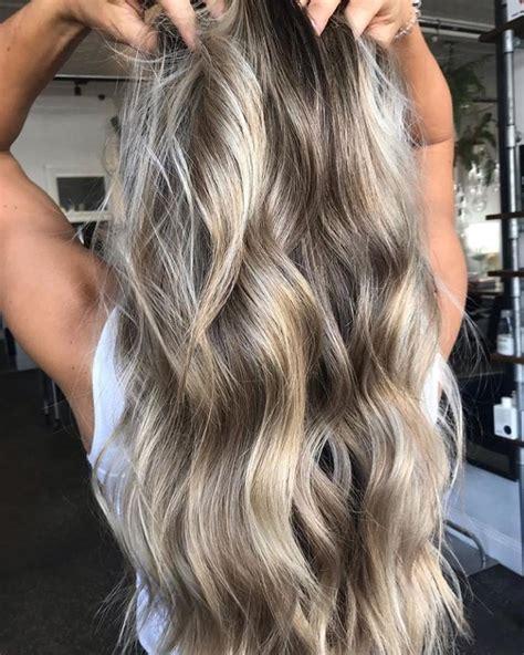 balayage ou meche tendances cheveux 233 t 233 2019