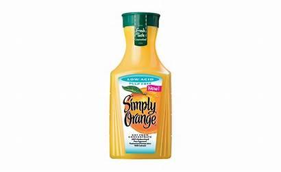 Orange Simply Low Acid Juice Retail Beverages