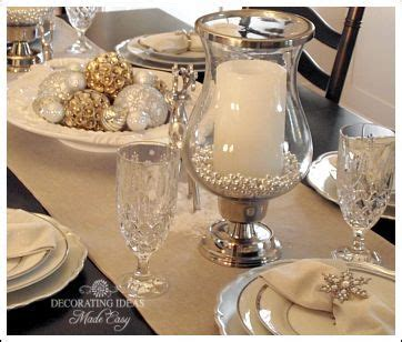 christmas table setting  blog  great decorating