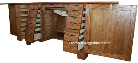 wooden sewing cabinet furniture sewing cabinet