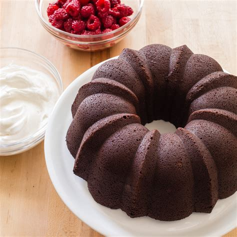 how to a bundt cake chocolate sour bundt cake recipe dishmaps