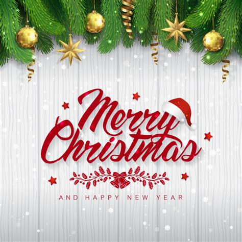 1000 merry christmas free vectors on ai, svg, eps or cdr. Merry christmas and happy new year banner template Vector ...
