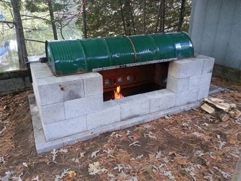 backyard barbecue pit how to make a large rotisserie pit bbq home design