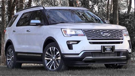 2019 Ford Explorer Review Youtube