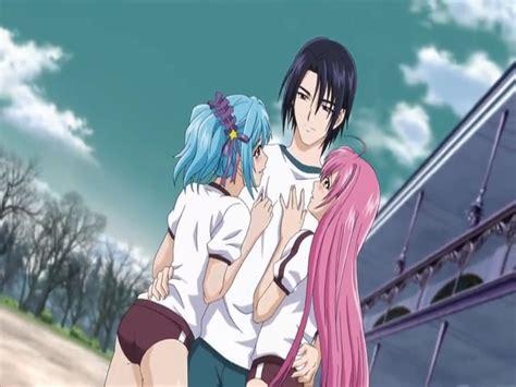 Top 10 Anime Where Bunch Of Boys One Rosario Capu2 Episode 10 Rosario Wiki