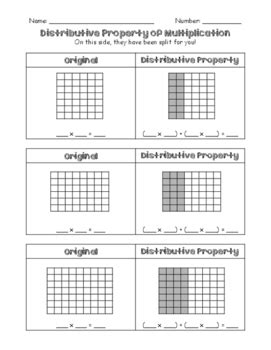 distributive property worksheet by tltussing teachers