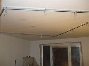 Sádrokartonový strop v paneláku