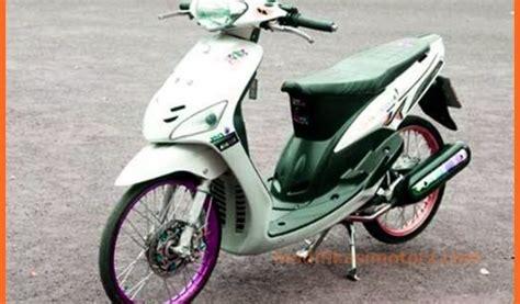 Modifikasi Mio Simple by Modifikasi Mio Sporty Putih Simple 2008 Modifikasimotorz