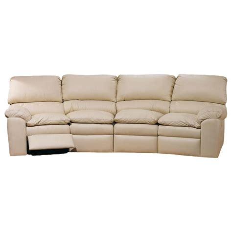 reclining sofa catera reclining four seat conversation sofa usa made