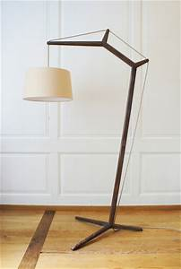 Puu floor lamp general lighting from mhpd architonic for Woobie wooden floor lamp design ideas