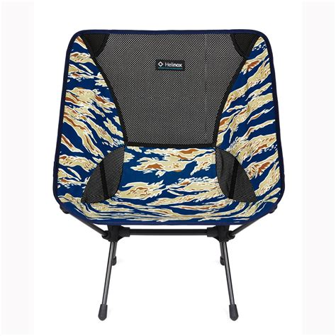 helinox chair one compact folding c chair blue tiger