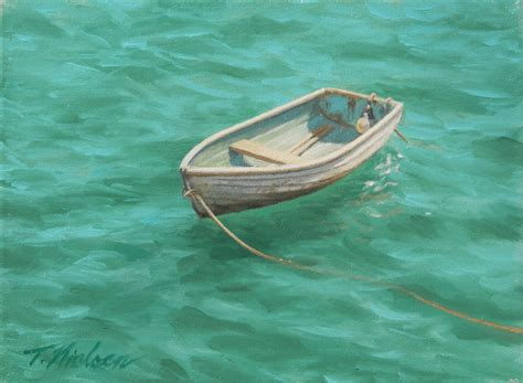 Rowboat Gallery by Row Boat Painting