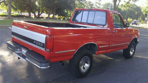 1992 ford f150 xlt 4x4 bed 5 0 efi 302 v8 automatic