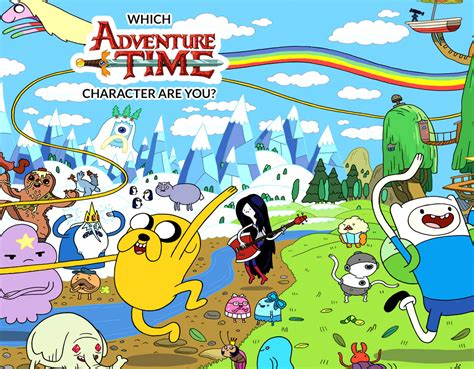 Which 'adventure Time' Character Are You?