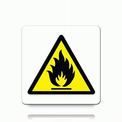 Warning Danger Flammable Symbol Toxic Labels Label