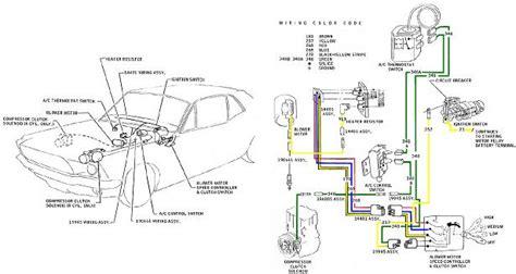 Ford Mustang Color Wiring Vacuum Diagrams