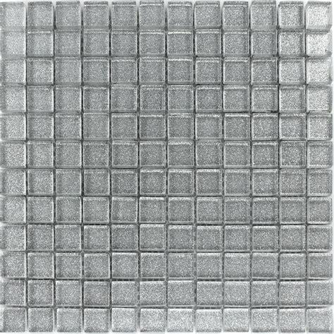 backsplash kitchen glas mosaikfliesen silber glitzer pl78148m