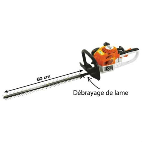 taille haies thermique stihl hs 45 600 gk motoculture