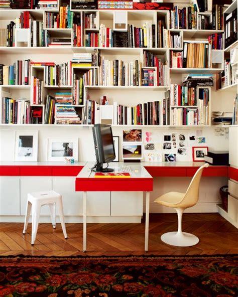 bibliothèque bureau intégré dose of inspiration 23 office office office flodeau