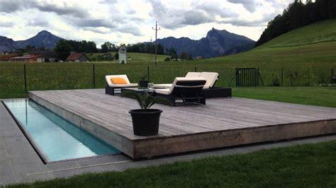 spiessbergerbau gmbh vollautomatische poolabdeckung youtube von pool deck selber bauen bild