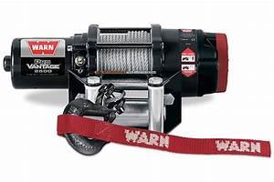 Warn Provantage 2500 Winch - Synthetic Or Steel
