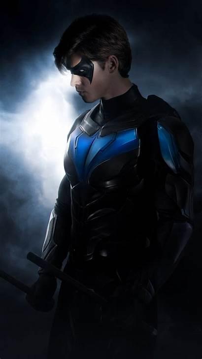 Titans Nightwing 4k Wallpapers Disney Resolution Batman
